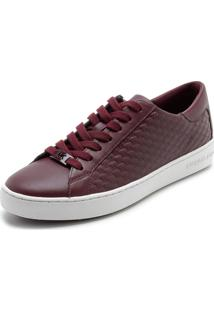 Tênis Michael Kors Colby Sneaker Vinho