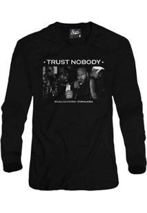 Casaco Moletom Skull Clothing Trust Nobody Masculino - Masculino