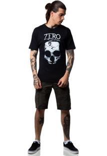 Camiseta Zero Grind Masculina - Masculino-Preto