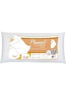 Travesseiro Fibra Siliconizada-Toque De Pluma-Agarradinho-50X90