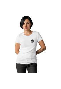 Camiseta Feminina Ezok King Branco