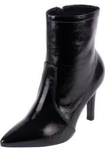Bota Ramarim Ankle Boot Preto 35