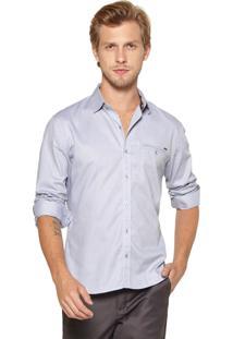 Camisa Docthos Slim Lisa Cinza