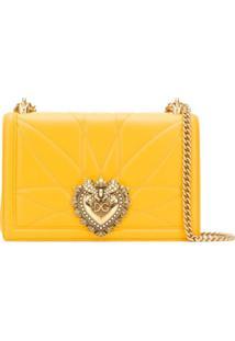 Dolce & Gabbana Devotion Shoulder Bag - Amarelo