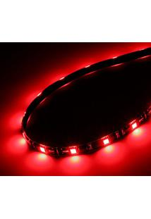 Fita De Led Akasa Vegas M - Vermelho - 50Cm - Fita Magnética - Ak-Ld05-50Rd