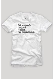 Camiseta Reserva Pai De Princesa - Masculino
