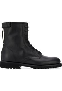 Woolrich Lace-Up Ankle Boots - Preto