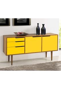 Buffet Strauss Amarelo Laca M40