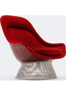 Poltrona Platner Easy Couro Ln 378