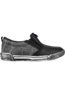 Tênis Bibi Sneakers New V - Masculino-Preto