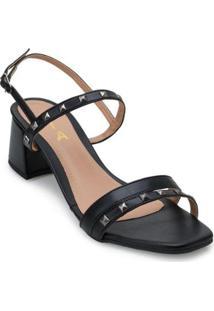 Sandália Metalizada Lia Li21-1400 - Feminino