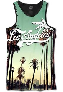 Camiseta Bsc Regata Los Angeles Cali Full Print - Masculino