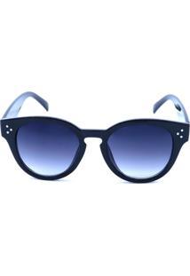 Óculos De Sol Prorider Preto Fosco Com Lente Degradê