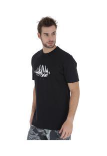 Camiseta Volcom Stone Sounds - Masculina - Preto