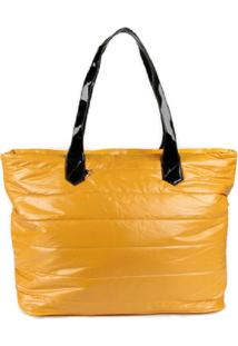 Bolsa Aphrodite By Elizabeth Tecido Amarelo