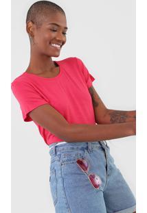 Camiseta Rovitex Flamê Rosa - Kanui