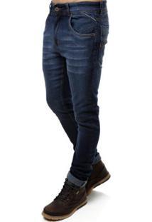 Calça Jeans Black Masculina - Masculino-Azul