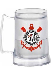 Caneca Gel Corinthians Escudo Incolor