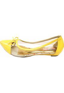 Sapatilha Blume Cristal Amarela