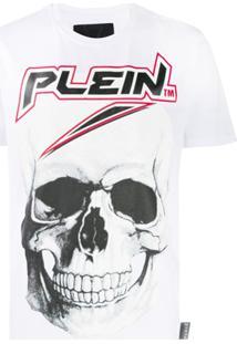 Philipp Plein Vestido Space Plein - Branco