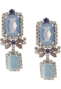 Mignonne Gavigan Isabella Drop Earrings - Azul