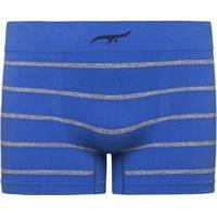 9d7d35fbc Cueca Boxer Sem Costura Listrada Zee Rucci - Masculino-Azul Claro