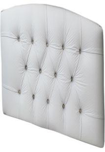 Cabeceira Para Cama Realeza Branco/Furadinho - Lc Móveis