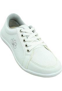 Tênis Klimer Femme Shoes Feminino - Feminino-Branco