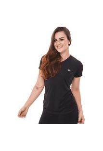 Camiseta Feminina Dry Preto