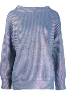 Pinko Suéter Oversized - Azul