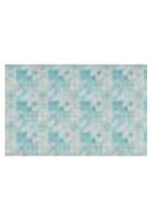 Papel De Parede Azulejo Português Azul Piscina - Pp397-1
