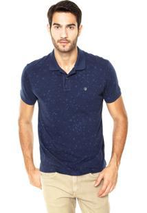 Camisa Polo Richards Ancoras Azul