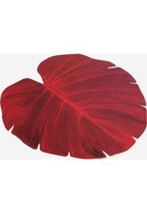Jogo Americano Le Lis Blanc Casa Folha Red Vermelho - Jogo Americano Folha Red-Vermelho Escuro-Un