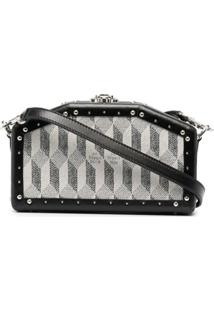 Au Départ Clutch Hexagon Nano Trunk - Preto