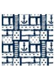 Papel De Parede Autocolante Rolo 0,58 X 3M - Ancora Marinheiro 286733348