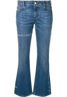 Stella Mccartney Calça Jeans Skinny X The Beatles All Together Now - Azul