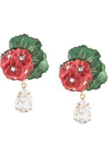 Dolce & Gabbana Par De Brincos - Vermelho