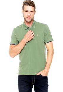Camisa Polo Sergio K Regular Verde