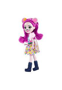 Boneca Articulada - Fashion E Animal - Enchantimals - Mayla Mouse E Fondue - Mattel