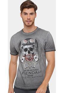 Camiseta Tigs Tinturada Skull Masculina - Masculino