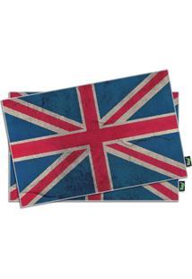 Jogo Americano Casa Da Mãe Joana Bandeira Inglaterra 2 Unidades