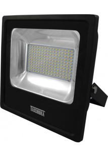 Refletor Led 120W Luz Branca 6500K Taschibra Preto