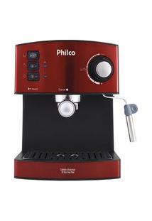 Cafeteira Philco Expresso 20 Bar Inox Red 110V