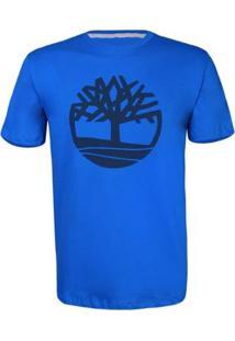 Camiseta Timberland Masculina Kennebec Rvr Tree - Masculino-Azul+Marinho