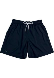 Shorts Curto Masculino Liso Bordado 613 Mash