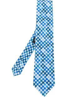 Etro Gravata Com Padronagem - Azul