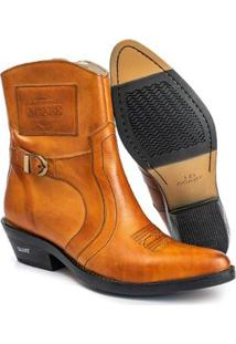 Bota Texana Hb Agabe Boots Havana Masculina - Masculino-Café
