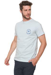 Camiseta Yacht Master Logo Azul