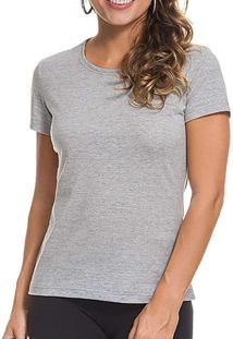 Camiseta Feminina Malwee 1000004499 50000-Mescla