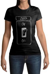 Camiseta Hunter Zueira Modo On Preta
